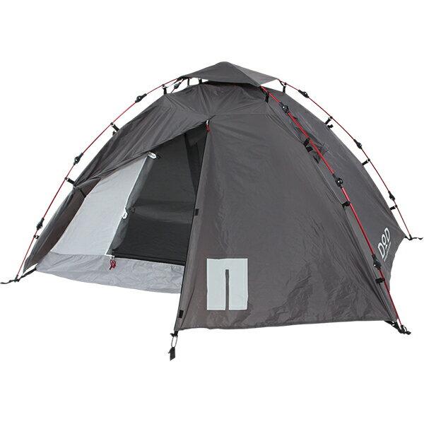 【送料無料】DOD T2-275 ブラック [ライダーズワンタッチテント (大人2名用 )] アウトドア ツーリング キャンプ 軽量 簡単 グランドシート付属