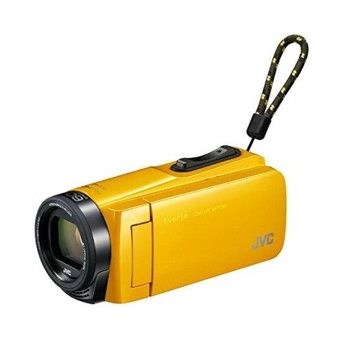 【送料無料】JVC(ビクター/VICTOR)GZ-F270-YマスタードイエローEverio(エブリオ)[フルハイビジョンメモリービデオカメラ(32GB)(フルHD)]約4.5時間連続使用のロングバッテリー長時間録画運動会学芸会海プール