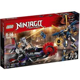 【送料無料】LEGO レゴ (LEGO) ニンジャゴー キロウ vs. サムライ X 70642