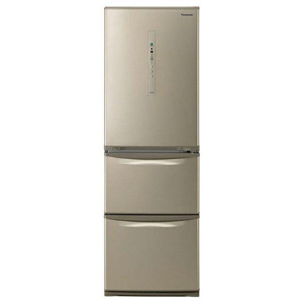 【送料無料】PANASONIC NR-C37HC-N シルキーゴールド [冷蔵庫(365L・右開き)] NRC37HCN 【代引き・後払い決済不可】【離島配送不可】