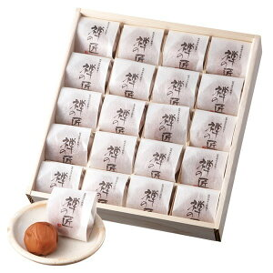 中田食品 紀州南高完熟梅干 禅の匠 木箱 20粒 (500g) [ 梅干し ] メーカー直送