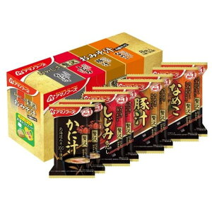 アサヒフードアンドヘルスケア アマノフーズ おいしさ贅沢おみそ汁 4種 8食 91g