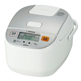 象印 マイコン炊飯ジャー 極め炊き 5.5合炊き ホワイト NL-DA10-WA 炊飯器 すいはんき ジャー 保温 黒厚釜
