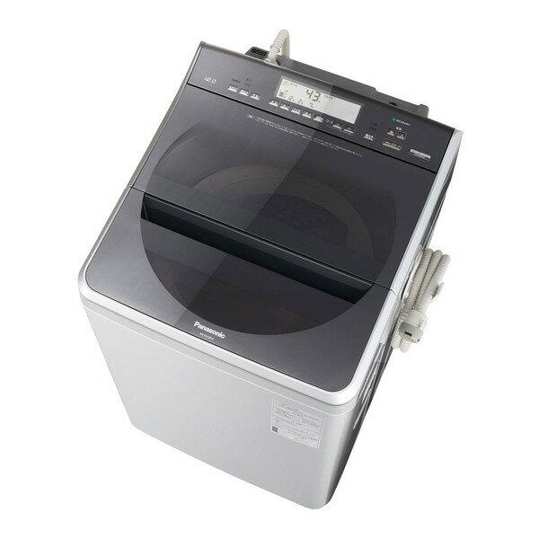 【送料無料】PANASONIC NA-FA120V1-S シルバー [全自動洗濯機 (洗濯12.0kg)] 【代引き・後払い決済不可】【離島配送不可】