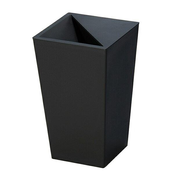 新輝合成 ユニード カクスS28 ブラック [ゴミ箱]