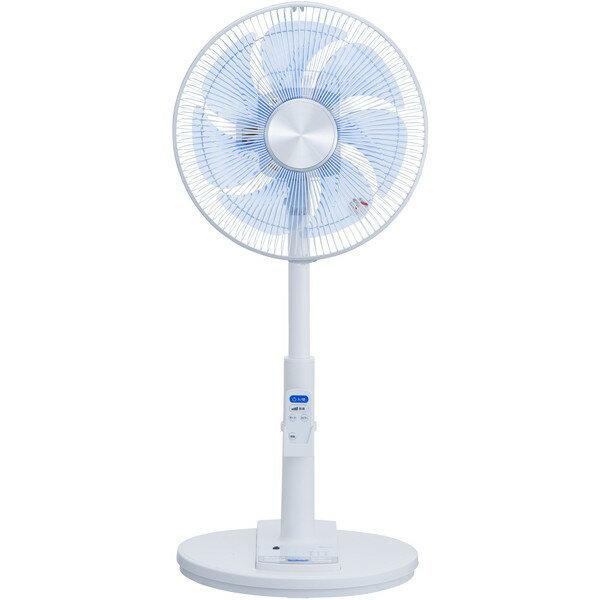 【送料無料】ユアサプライムス YT-J3361YR-W ホワイト [30cmリビング扇風機(7枚羽根・リモコン付き)] 扇風機 AC扇 消臭・脱臭機能 イオニシモ リズム風 風量調節3段階 おやすみ風 リモコン ツイストウイング7枚羽根