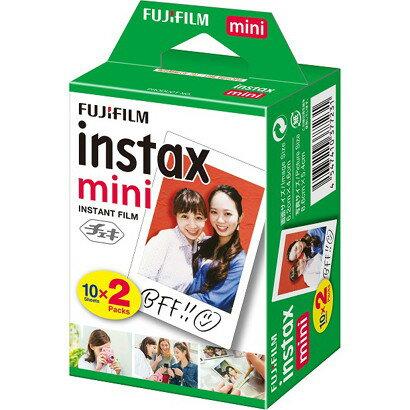 富士フィルム INSTAX MINI JP 2 [チェキ インスタントカラーフィルム instax mini 2パック (10枚入×2)]