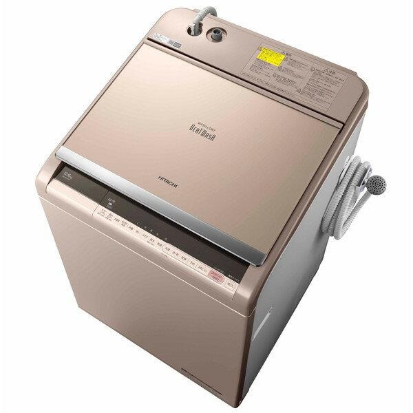 【送料無料】日立 BW-DV120C(N) シャンパン ビートウォッシュ [洗濯乾燥機(12.0kg)] 【代引き・後払い決済不可】【離島配送不可】
