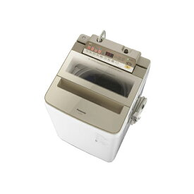 【送料無料】PANASONIC NA-FA80H6-N シャンパン [全自動洗濯機 (洗濯8.0kg)]