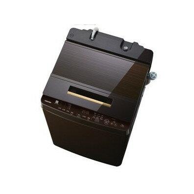 【送料無料】東芝 AW-10SD7(T) グレインブラウン ZABOON [簡易乾燥機能付洗濯機(10.0kg)]