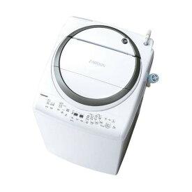 【送料無料】東芝 AW-8V7 シルバー ZABOON [洗濯乾燥機(洗濯8.0kg/乾燥4.5kg)] 浸透ザブーン洗浄 温かザブーン洗浄 黄ばみ予防 自動おそうじ機能 低振動・低騒音 【代引き・後払い決済不可】【離島配送不可】
