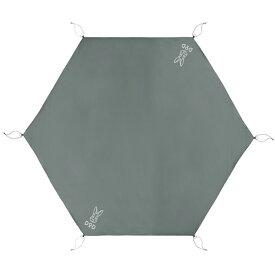 DOD GS5-562-GY グレー [ワンポールテントM用グランドシート(5人用)] アウトドア キャンプ レジャー