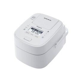 【送料無料】PANASONIC SR-VSX108-W ホワイト Wおどり炊き [スチーム&可変圧力IHジャー炊飯器 (5.5合炊き)]