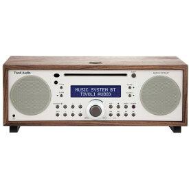 ミニコンポ 高音質 チボリオーディオ Tivoli Audio MSYBT-1529-JP Tivoli Music System BT Classic Walnut/ベージュ [Bluetooth対応ミニコンポ CD/AM/FM ] bluetooth ブルートゥース ワイヤレス スロットイン式 CDプレーヤー スピーカー MSYBT1529JP