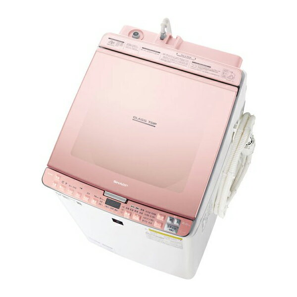 【送料無料】 シャープ sharp SHARP プラズマクラスター 洗濯機 洗濯乾燥機 (洗濯8kg/乾燥4.5kg) ES-PX8C-P ピンク 【代引き・後払い決済不可】【離島配送不可】