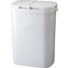 リス H&H 分類ゴミ容器 70W GY