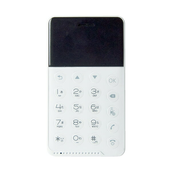 【送料無料】フューチャーモデル MOB-N17-01-WH ホワイト NichePhone-S[SIMフリー携帯電話] Android コンパクト nano SIM