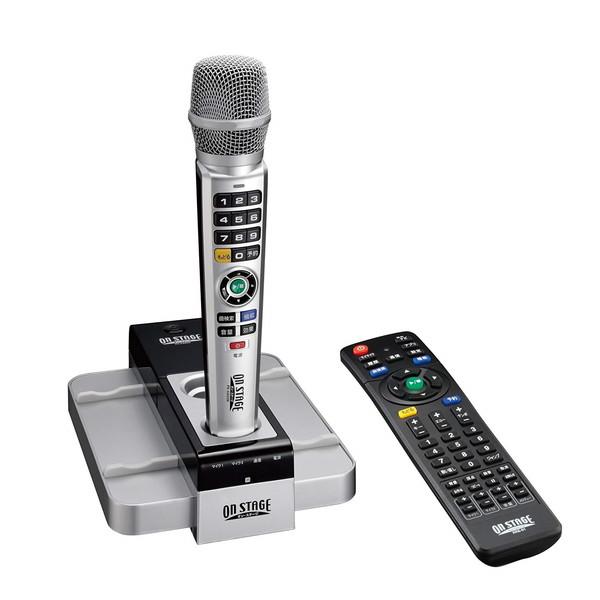 【送料無料】ON STAGE PK-XA03 [パーソナルカラオケ] カラオケ ワイヤレス マイク リモコン 採点 テレビ