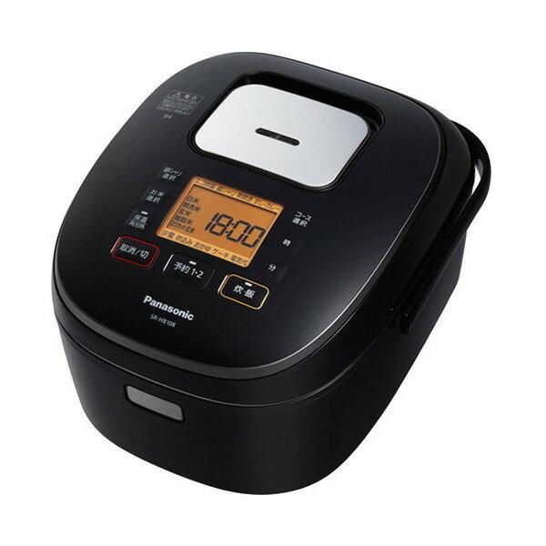 【送料無料】PANASONIC SR-HB108-K ブラック [IH炊飯器(5.5合炊き)]