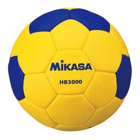MIKASA HB3000 [ハンド3号(一般・大学・高校) 男子用 試合球 ディンプル 黄青]