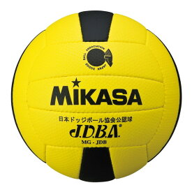 MIKASA MGJDB Y/BK [ドッジ3号 試合球 縫い 黄/黒]