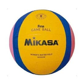 MIKASA W6009W [水球 国際公認球(一般・大学・高校) 女子+中学男子 黄青ピンク]