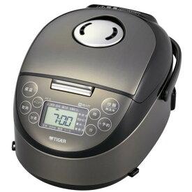 TIGER JPF-A550-K サテンブラック 炊きたて [IH炊飯ジャー(3合炊き)]