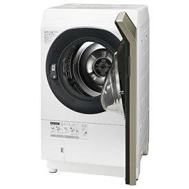 洗濯機 シャープ SHARP ES-G111-NR ドラム式洗濯乾燥機 洗濯11kg 乾燥6kg 白 ホワイト ゴールド ガラスドア おしゃれ 右開き