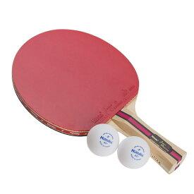 卓球 ラケット セット ニッタク(Nittaku) シェーク 貼り上がり ジャパンオリジナルプラス シェーク 1000 卓球ラケット 卓球用品 硬式40ミリ用