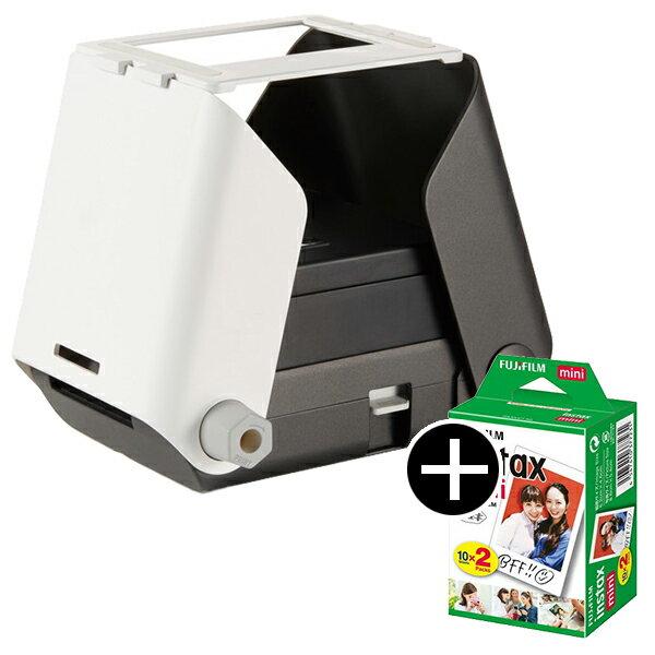 【送料無料】タカラトミー プリントス TPJ-03SU SUMI Printoss + instax mini フィルム(2パック) セット [スマートフォン用プリンター] フォト クリスマス 子供