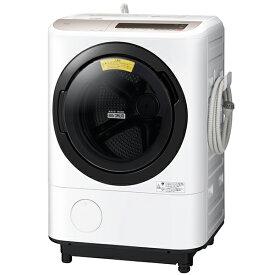 日立 HITACHI BD-NV120CL シャンパン ビッグドラム ななめ型ドラム式洗濯乾燥機 12kg 左開き ナイアガラ洗浄 風アイロン 自動おそうじ まとめ洗い 大容量 風呂水ポンプ ほぐし脱水 センサーシステム 消臭 BDNV120CL
