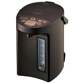 象印 CV-GB30-TA ブラウン VE電気まほうびん 優湯生 マイコン沸とう電気ポット 3.0L CVGB3 スピード沸とう まほうびん保温 沸とうセーブ 5段階保温設定 傾斜湯もれ防止 転倒湯もれ防止 自動給湯ロック