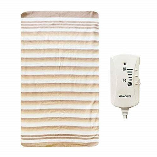 電気毛布 シングル 洗える 森田 MB-S14KS 電気敷毛布