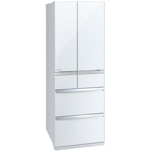 MITSUBISHIMR-WX52D-Wクリスタルホワイト置けるスマート大容量WXシリーズ[冷蔵庫(517L・フレンチドア)]