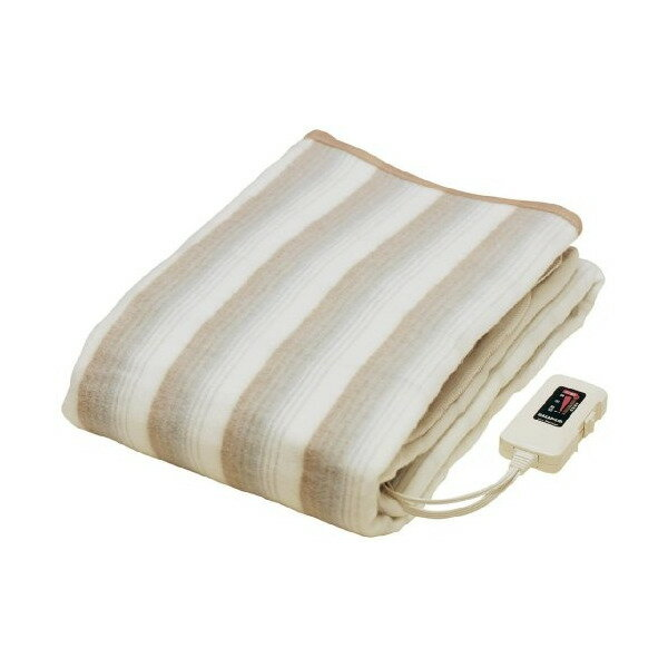 電気毛布 掛け敷き ダブル 洗える 椙山紡織 NA-013K 電気掛敷兼用毛布 ダニ退治 室温センサー付き おしゃれ 頭寒足熱