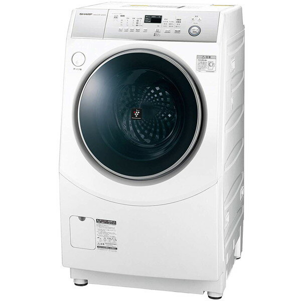 【送料無料】SHARP ES-H10C-WR ホワイト系 [斜め型ドラム式洗濯乾燥機 (洗濯10.0kg /乾燥6.0kg) 右開き] 【代引き・後払い決済不可】【離島配送不可】