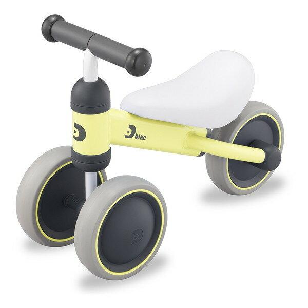 【送料無料】ides D-bike mini フロストイエロー(34826) [三輪車] 【同梱配送不可】【代引き・後払い決済不可】【沖縄・離島配送不可】 子供用 幼児用 幼児車 キッズバイク ジュニア