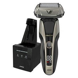 イズミ IZF-V998-S シルバー Z-DRIVE [往復式シェーバー(5枚刃・充電交流式) 洗浄機付属]