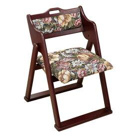 【送料無料】ファミリー・ライフ 和風折りたたみ椅子【同梱配送不可】【代引き不可】【沖縄・北海道・離島配送不可】