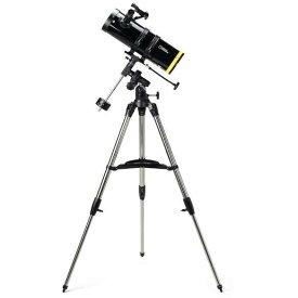 反射式天体望遠鏡 (口径114mm赤道儀) 80-10114 ナショナルジオグラフィック 初心者 小学生 子供 天体観測 星 惑星 理科