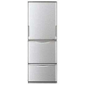 【送料無料】冷蔵庫 シャープ SHARP SJ-W351E シルバー 350L 右開き 左開き 両開き どっちもドア プラズマクラスター 節電 3ドア 同棲 カップル