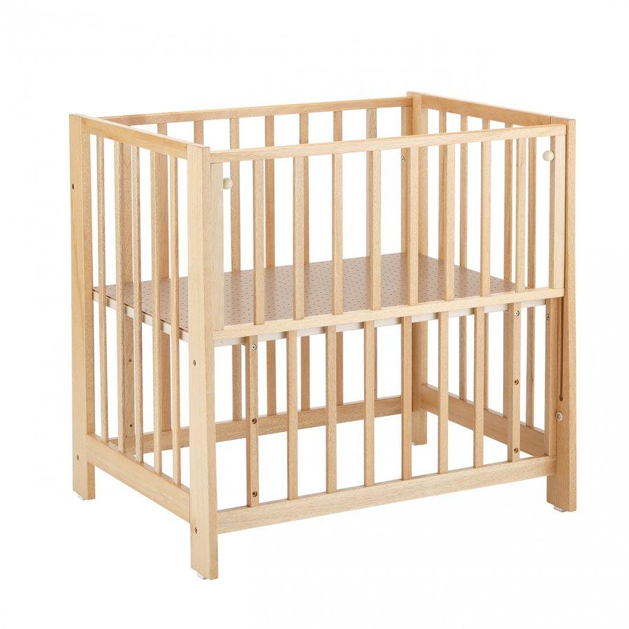 【送料無料】KATOJI ミニベッド業務用 ナチュラル ベビーベッド 床板すのこ ハイタイプ 収納棚 立ちベッド サークル 赤ちゃん用