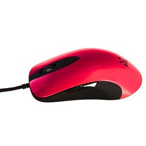 Dream Machines ドリームマシーンズ dm-dm1-fps-red ゲーミングマウス DM1 FPS - Blood Red 6ボタン シューレースケーブル 12000DPI FPS MOBA