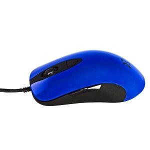 Dream Machines ドリームマシーンズ dm-dm1-fps-blue ゲーミングマウス DM1 FPS - Ocean Blue 6ボタン シューレースケーブル 12000DPI FPS MOBA 高性能 軽量