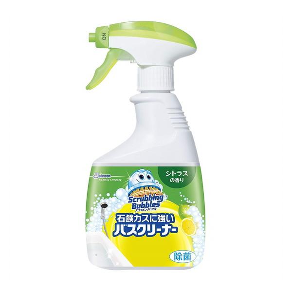 ジョンソン スクラビングバブル 石鹸カスに強いバスクリーナー シトラスの香り 本体 400mL
