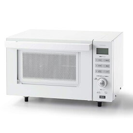 TWINBIRD DR-E852W ホワイト [電子オーブンレンジ(18L)] ツインバード 電子レンジ 単機能レンジ 18L 庫内フラット ダイヤル操作 一人暮らし 新生活 煮込み 解凍 温め シンプル モダン 簡単操作
