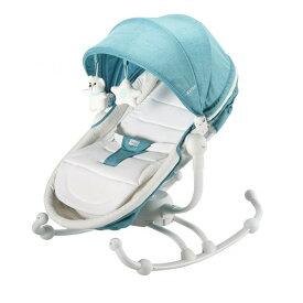 KATOJI バウンサー ターン360°グリーン カトージ ハイローチェア バウンサー ラック ベビーチェア 子供用 チェア イス いす 椅子 赤ちゃん 安全ベルト 子供用椅子 【保証期間:1年】