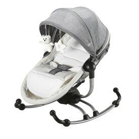 KATOJI バウンサー ターン360°グレー カトージ ハイローチェア バウンサー ラック ベビーチェア 子供用 チェア イス いす 椅子 赤ちゃん 安全ベルト 子供用椅子 【保証期間:1年】