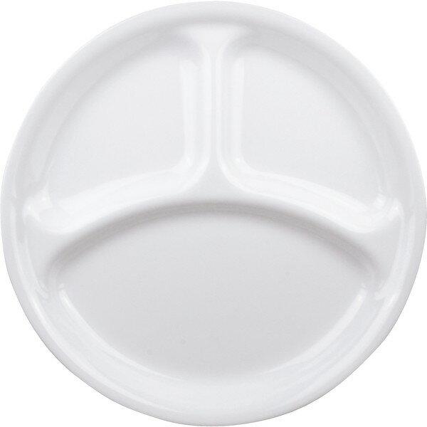 パール金属 CP-8914 コレール ウインターフロスト ホワイト [ランチ皿(大) J310-N]