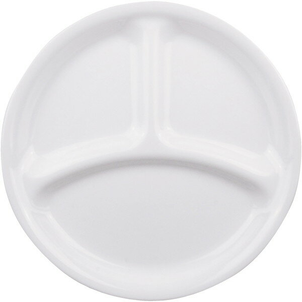 パール金属 CP-8915 コレール ウインターフロスト ホワイト [ランチ皿(小) J385-N]